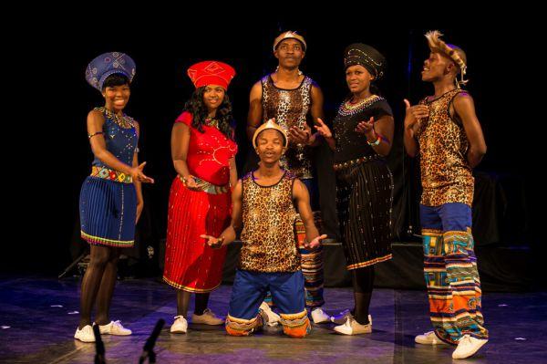 Concert Voices of Africa,  Gospel et danse d'Afrique du Sud
