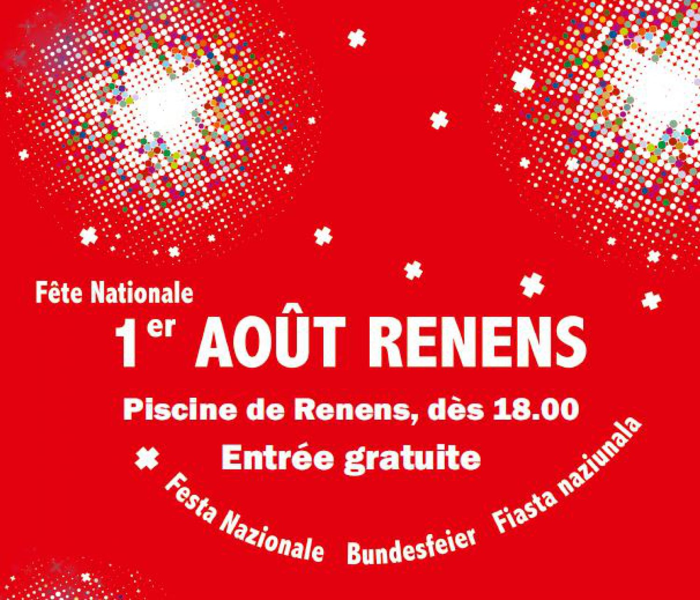 Fête nationale du 1er-Août à Renens