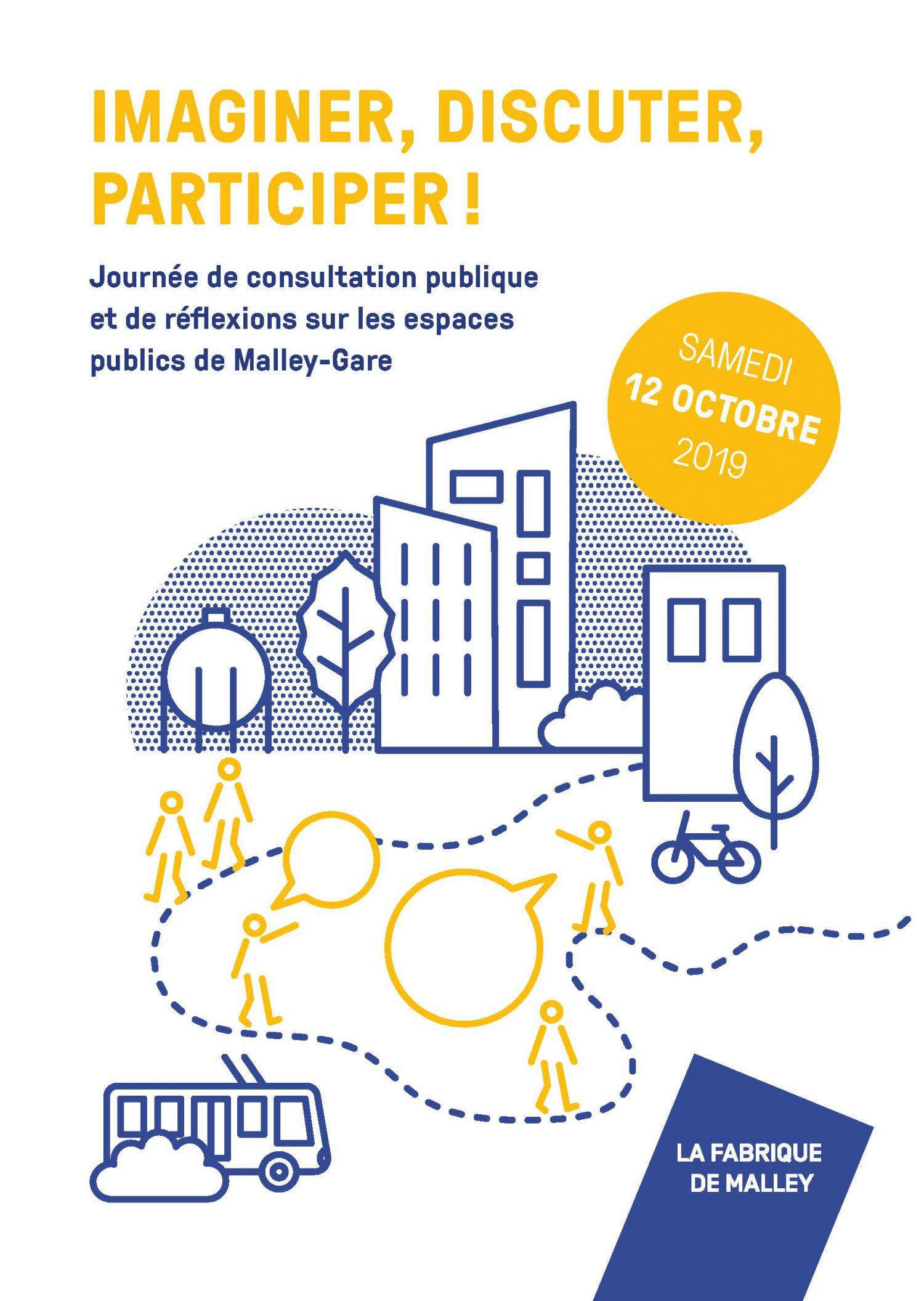 Malley-Gare - Journée de consultation publique et de réflexions sur les espaces publics