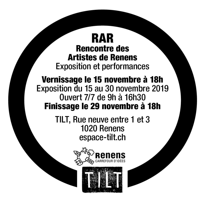 Rencontre des artistes de Renens à l'Espace Tilt
