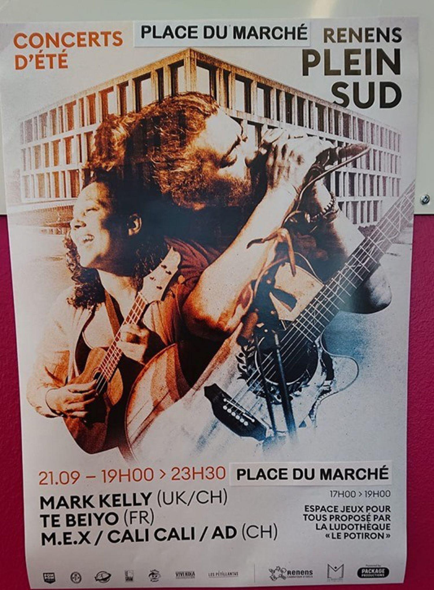 Concert d'été sur la Place du Marché