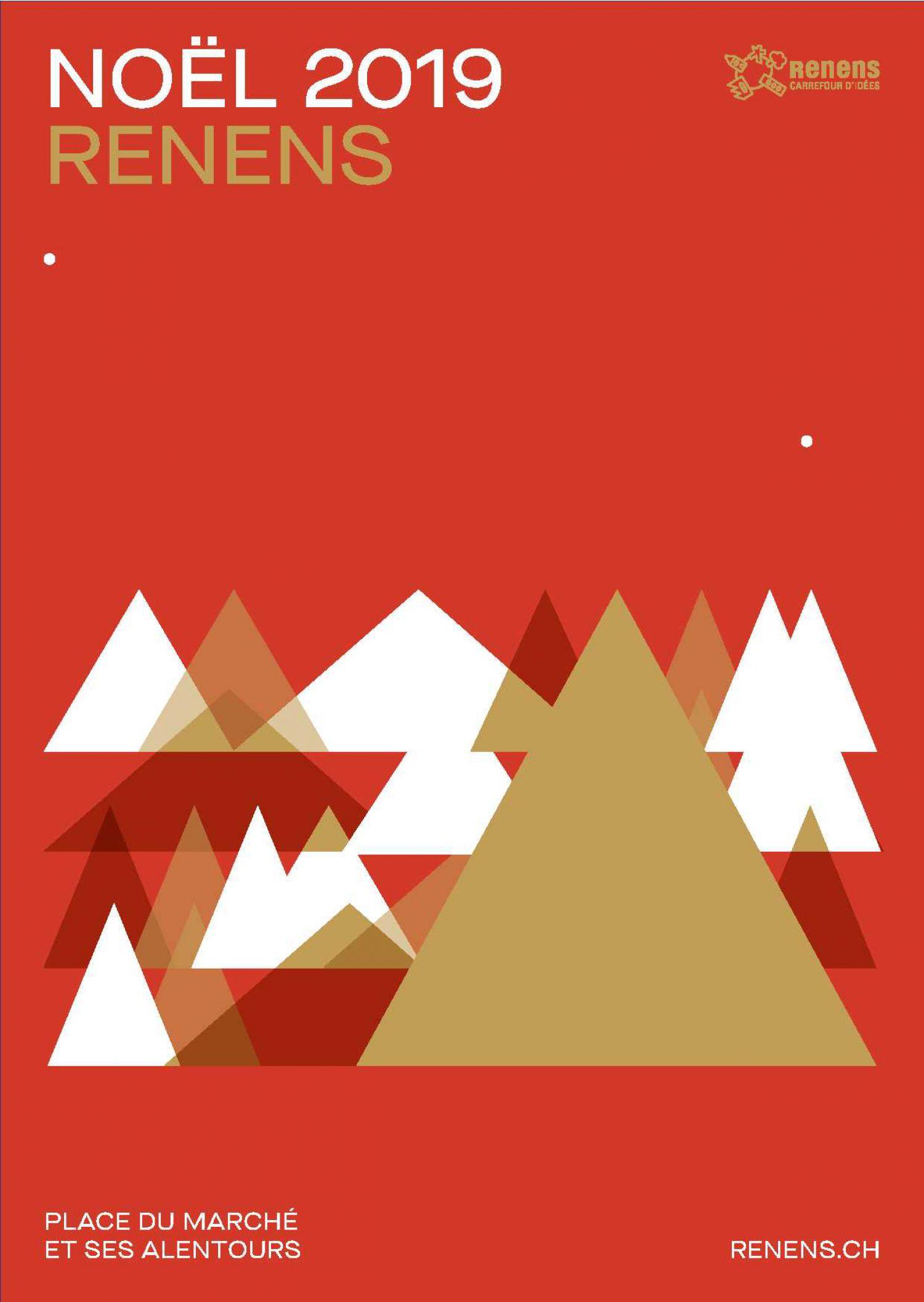 Animations de Noël à Renens