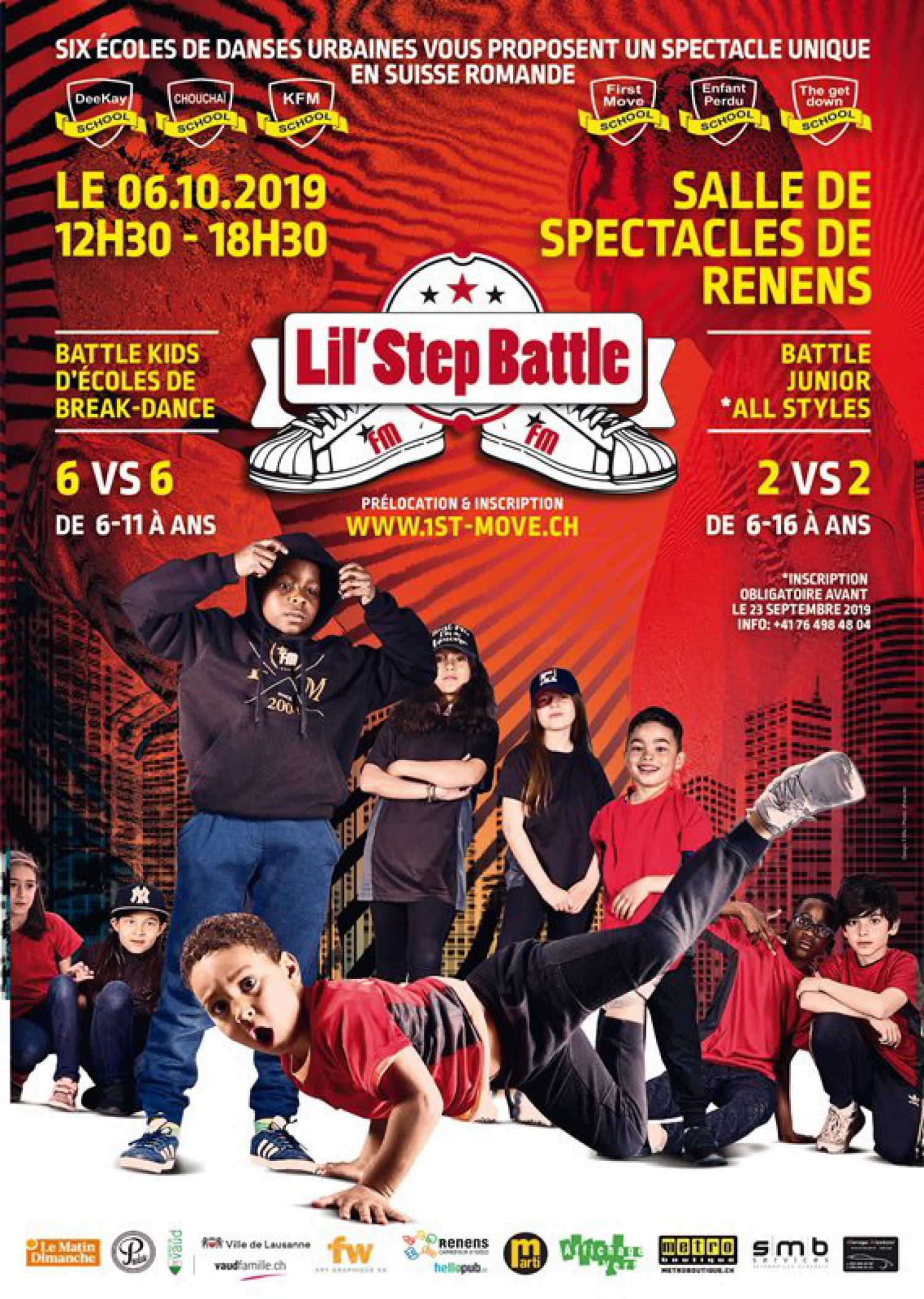 Lil'Step Battle - Battle junior all styles