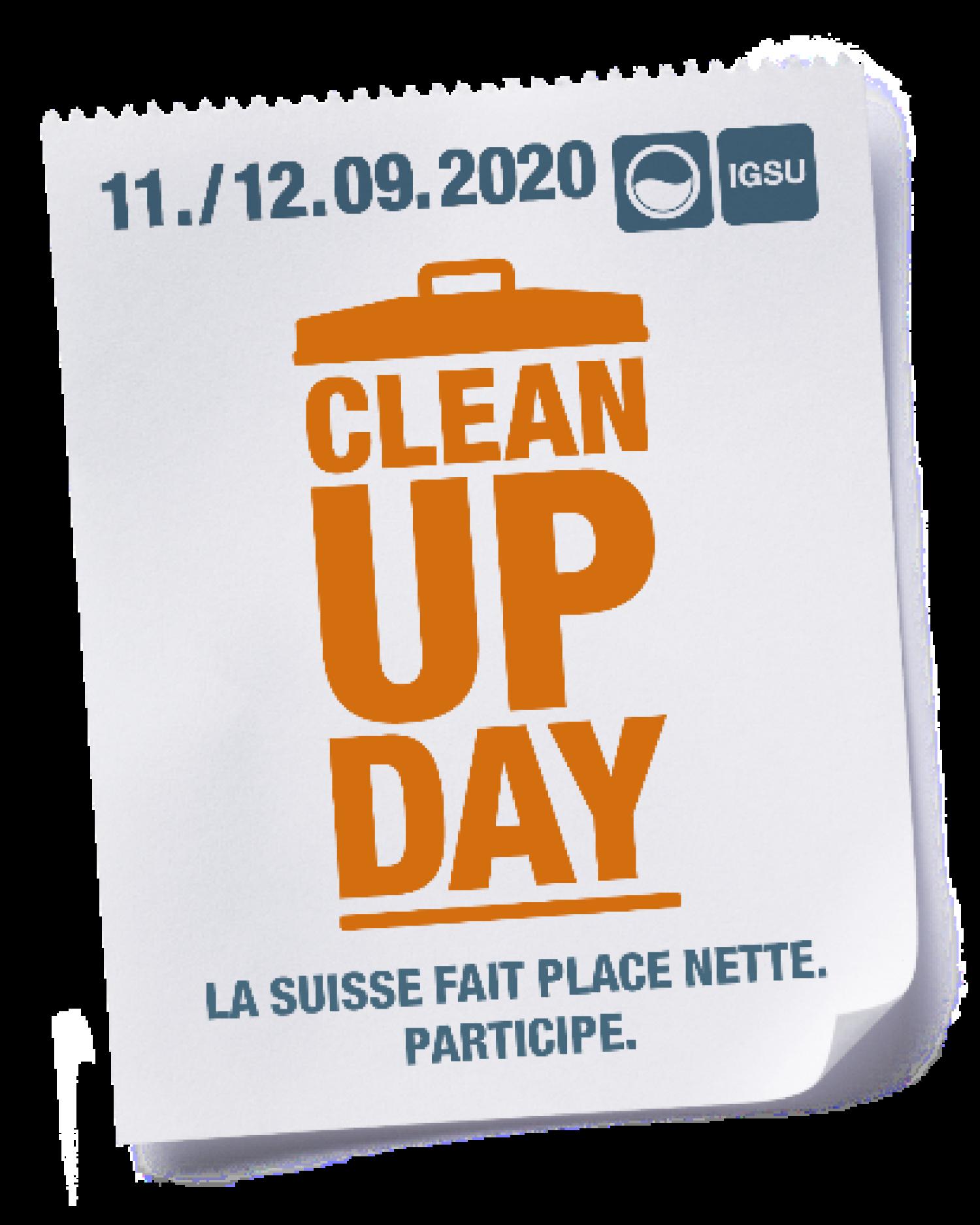 Clean up Day - Collectez des déchets et participez à un défi photos