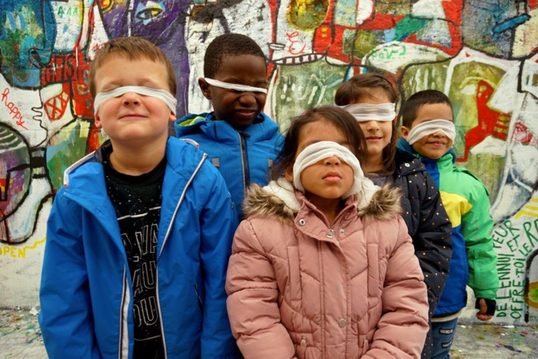 L'expo des enfants à la Ferme des Tilleuls