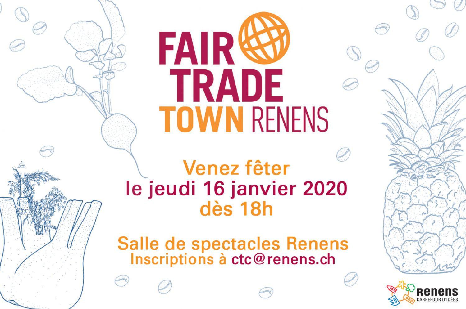 Remise de la distinction Fair Trade Town à la Ville de Renens