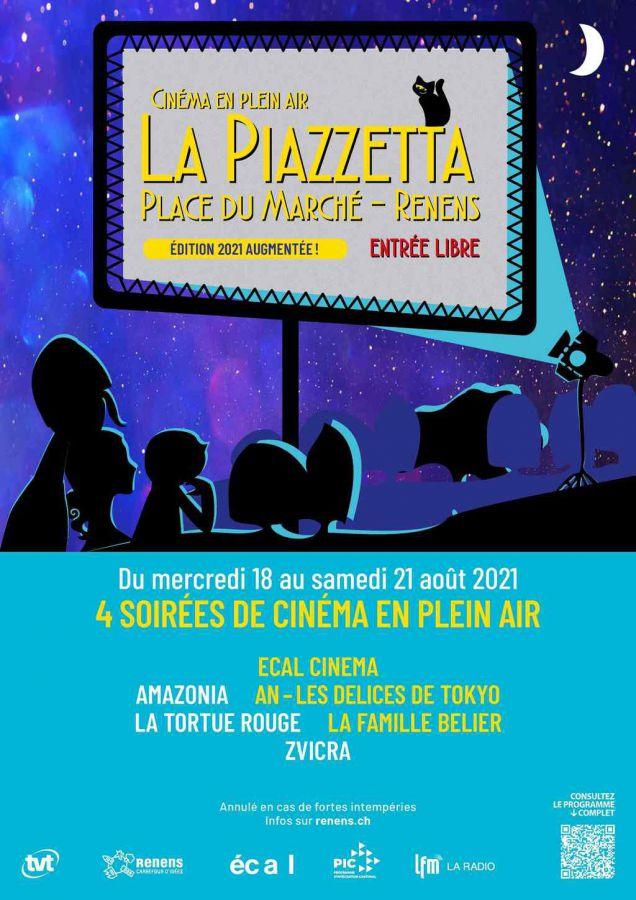 Cinéma en plein air La Piazzetta