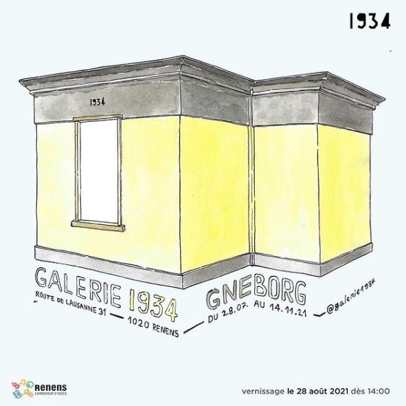 Gneborg à la Galerie 1934