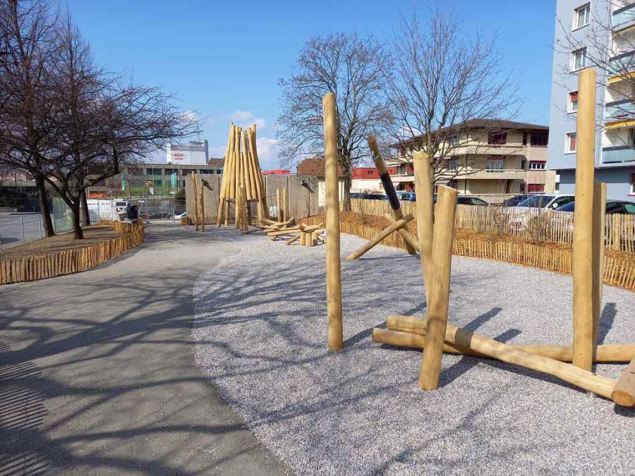 Inauguration du parc de la Delèze