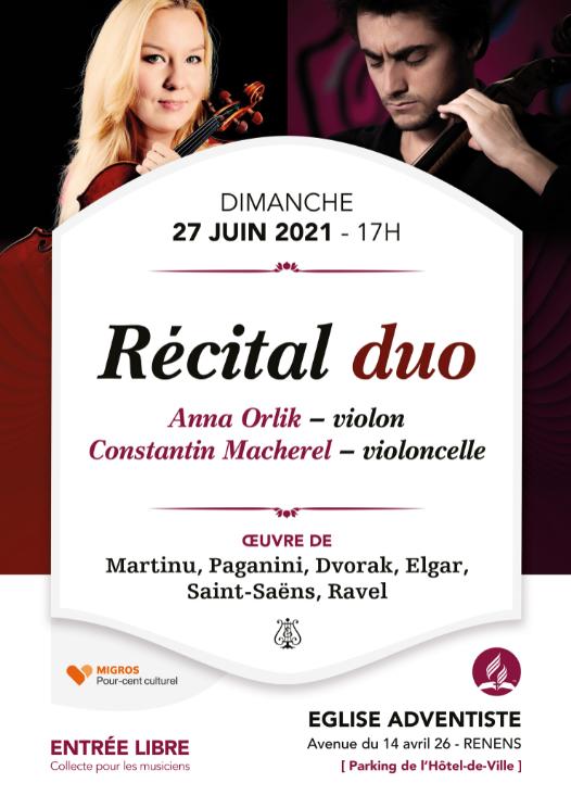 Concert classique - Récital duo