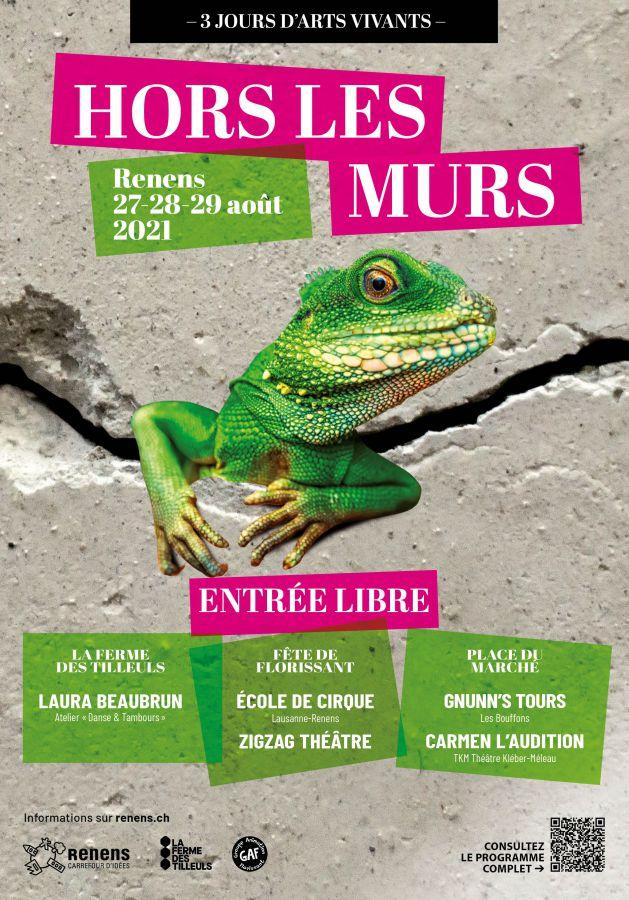 Hors les Murs, théâtre, cirque et performances!