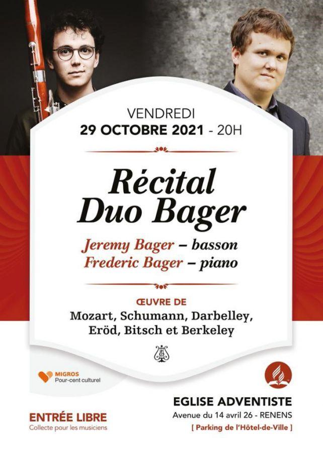 Récital classique - Duo Bager
