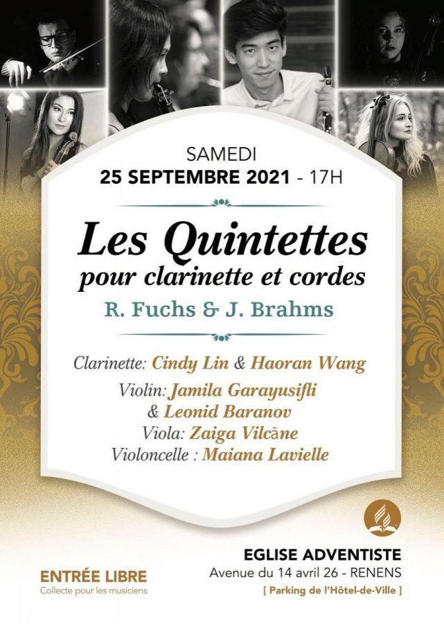 Concert classique - Les Quintettes