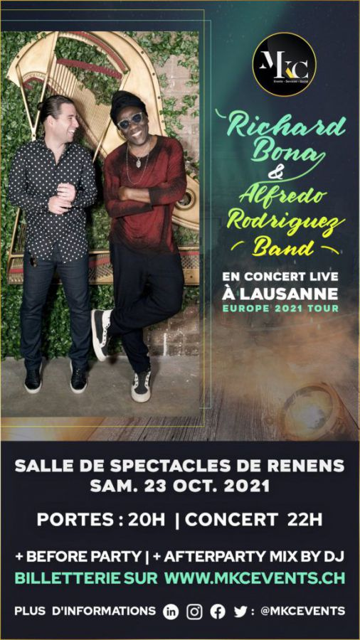 Concert Richard Bona et Alfredo Rodriguez