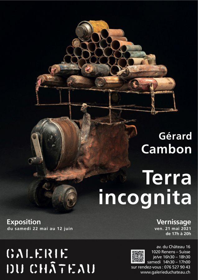 Expo de Gérard Cambon à la Galerie du Château