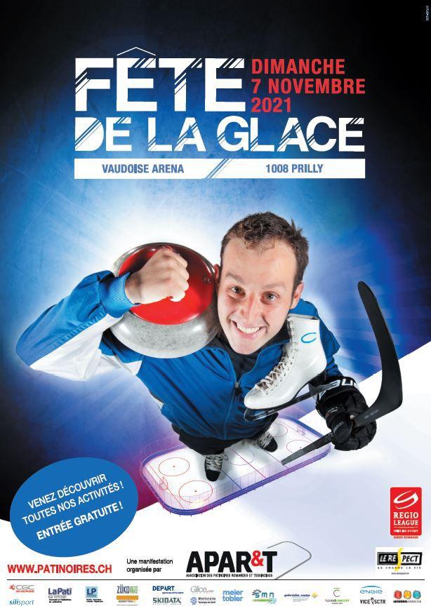 Fête de la glace à la Vaudoise aréna
