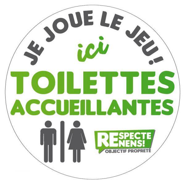 'Ici Toilettes accueillantes', une opération win-win pour les restaurateurs et la population