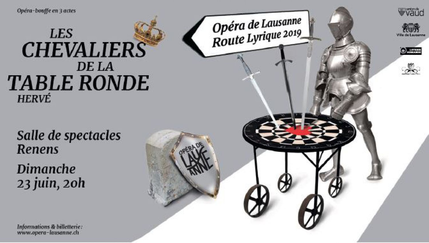 Saison musicale - La Route lyrique, les Chevaliers de la Table ronde