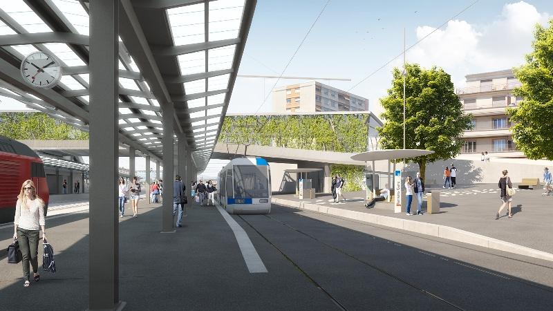 S�ance d'information sur les travaux pr�paratoires au chantier du tram au nord de la gare