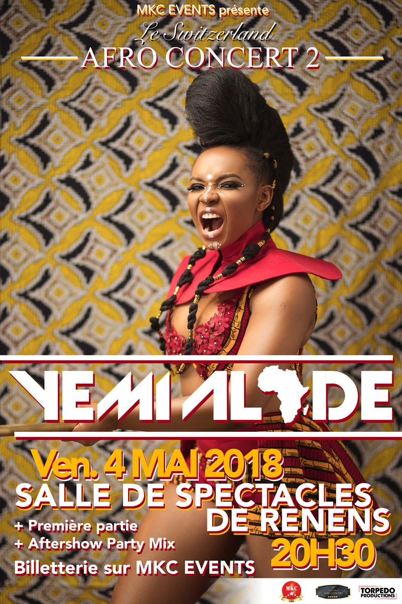 Concert de Yemi Alade
