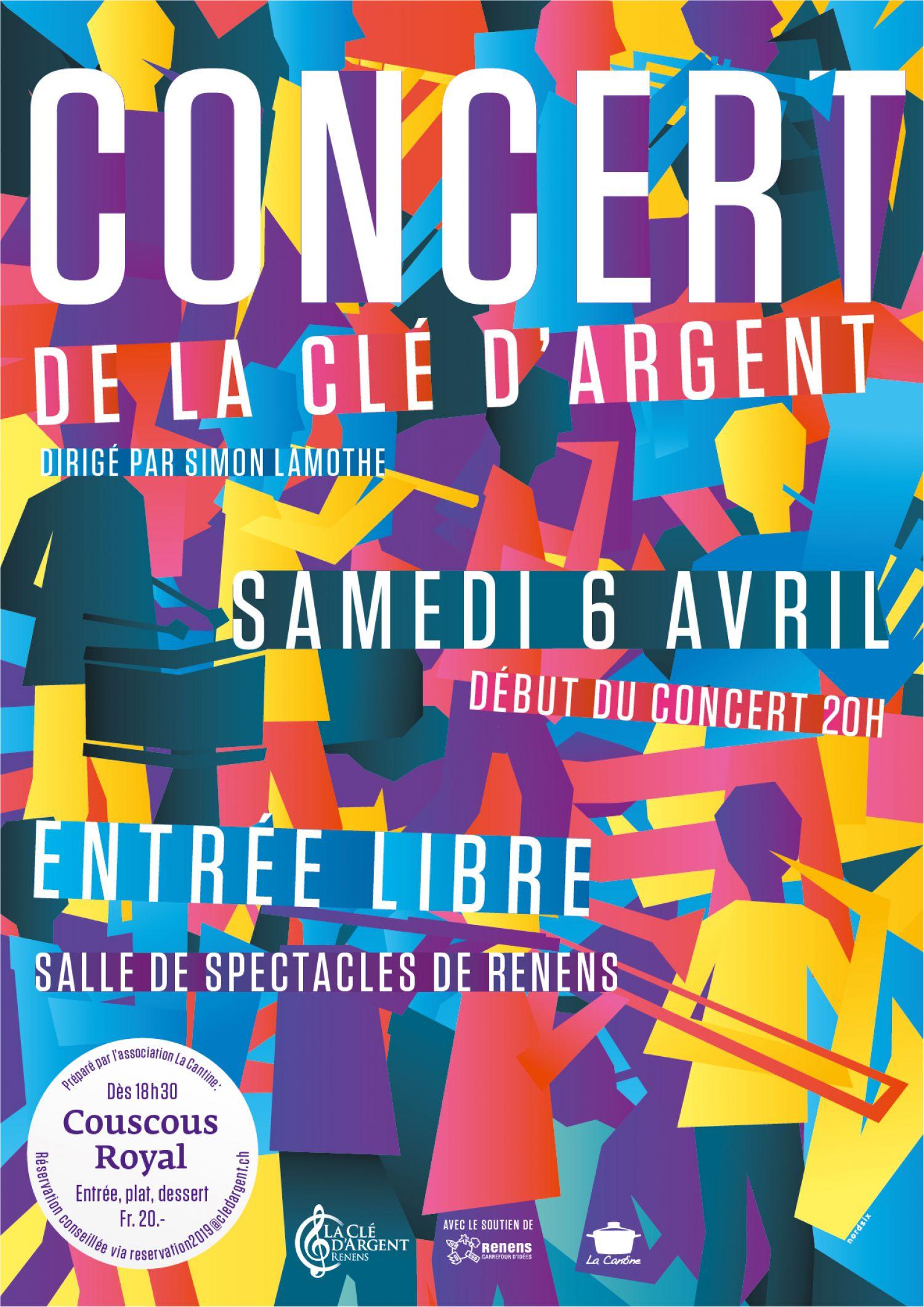 Concert annuel de La Clé d'Argent