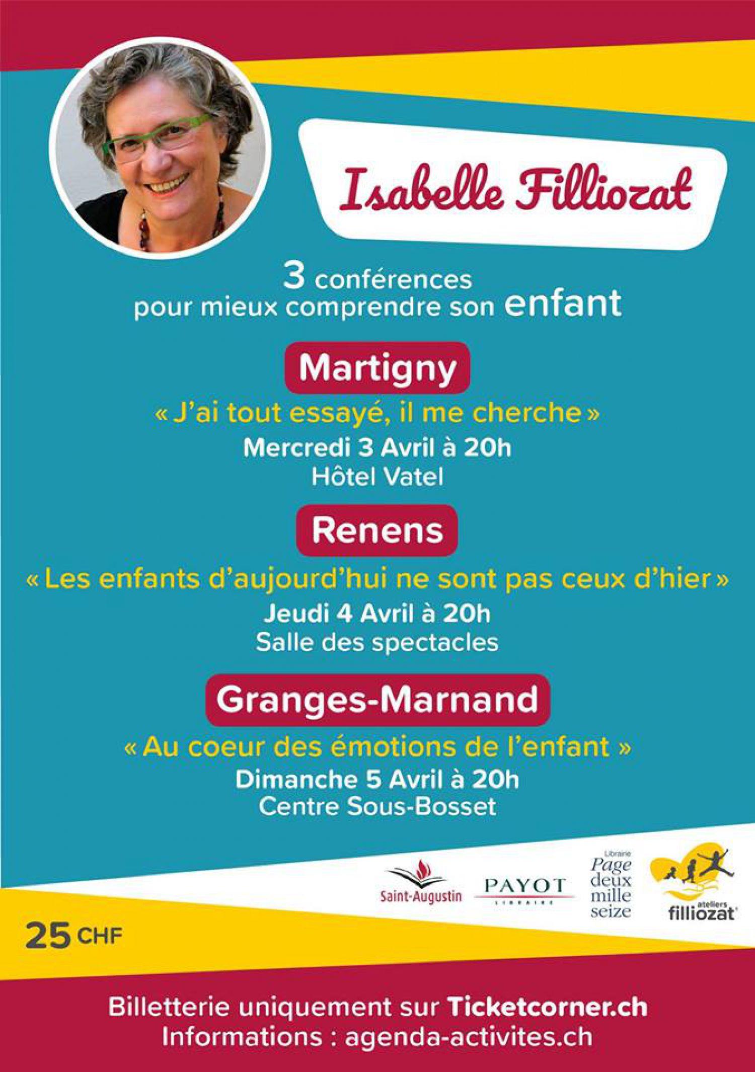 Conférence d'Isabelle Filliozat Les Enfants d'aujourd'hui ne sont pas ceux d'hier