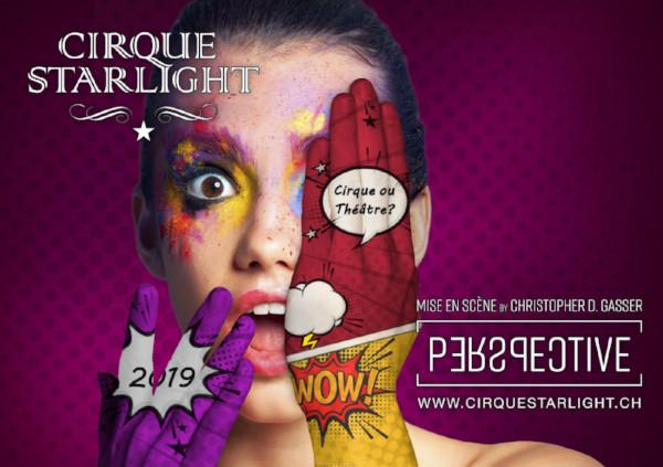 Cirque Starlight dans sa nouvelle création
