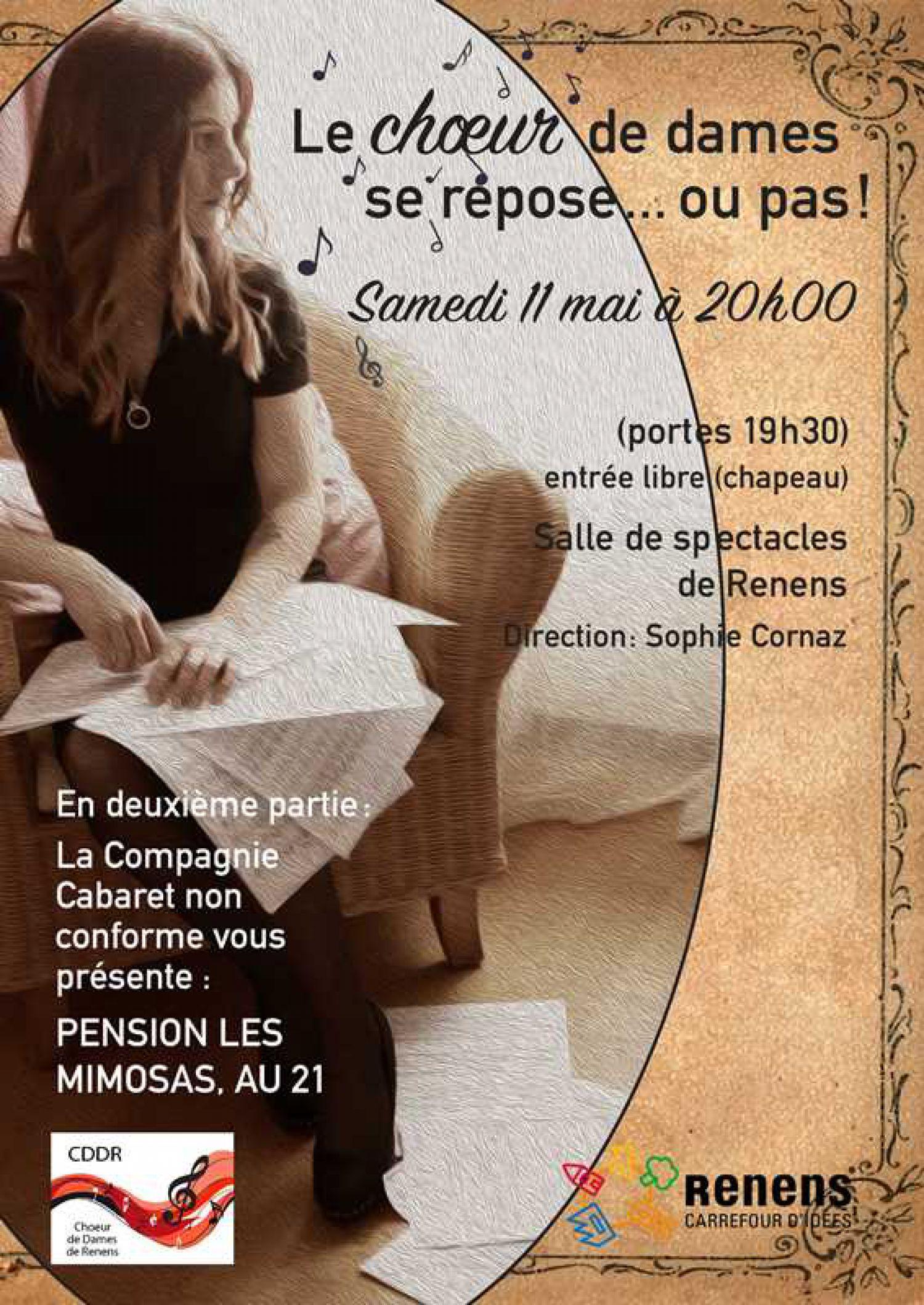 Spectacle annuel du Choeur de Dames de Renens