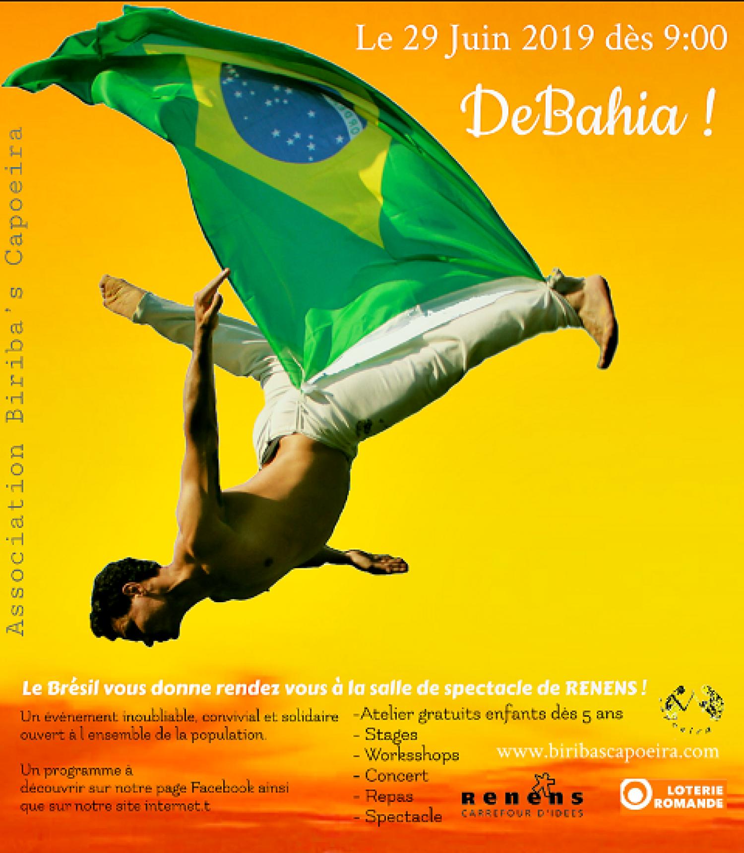 Festival de culture brésilienne DeBahia