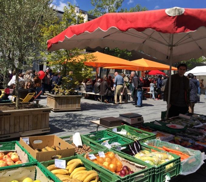 Passez donc au marché de Renens le 1er Aout !