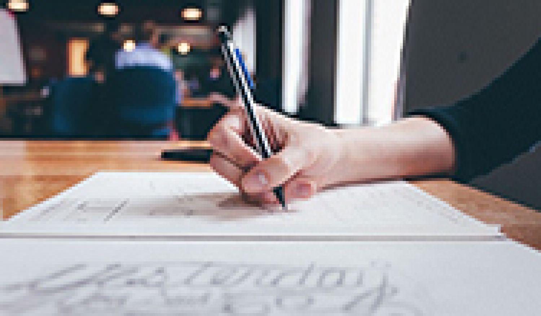 Bourse d'aide à la création littéraire 2020