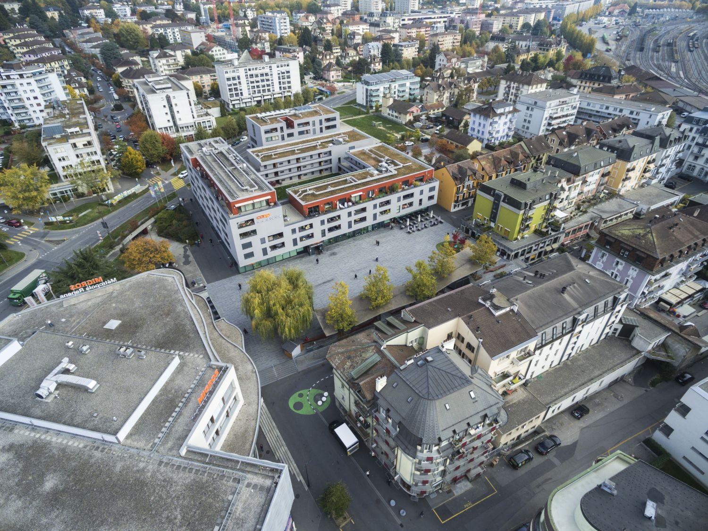 Feuille des Avis officiels du Canton de Vaud - Article consacré à la Ville de Renens