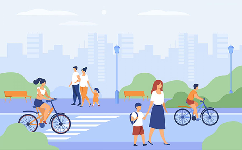 Retour sur les actions mobilité douce de l'été-automne 2020 - 22 octobre à la Rue de la Mèbre