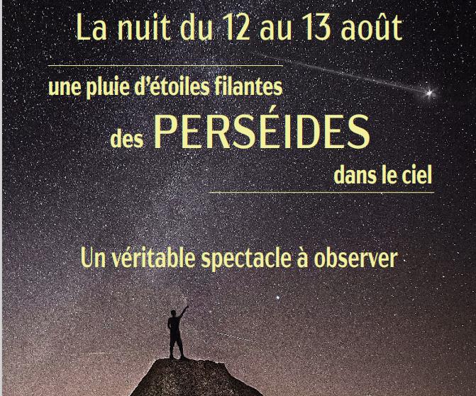 La nuit des Perséides : du 12 au 13 août 2021