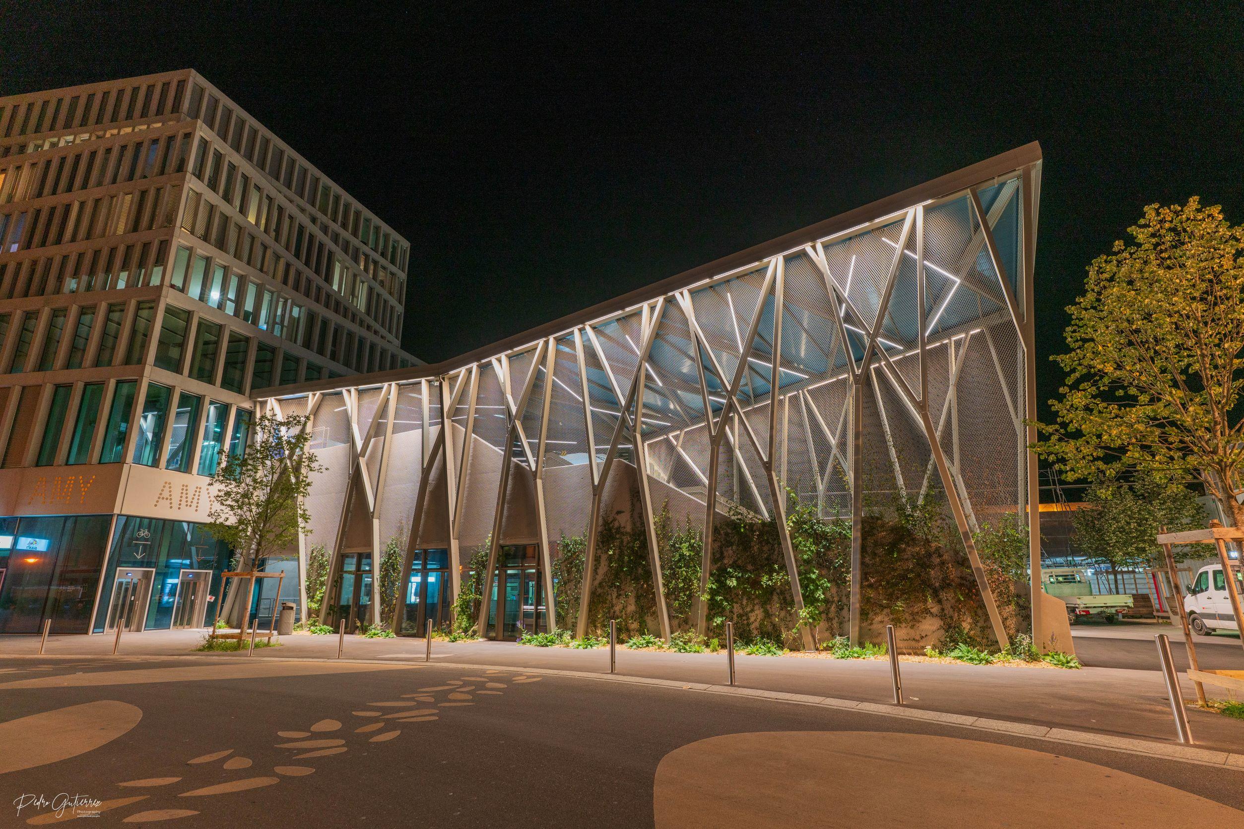 Le Prix de l'Immobilier romand 2021 de la catégorie Ouvrages publics pour le Rayon Vert!
