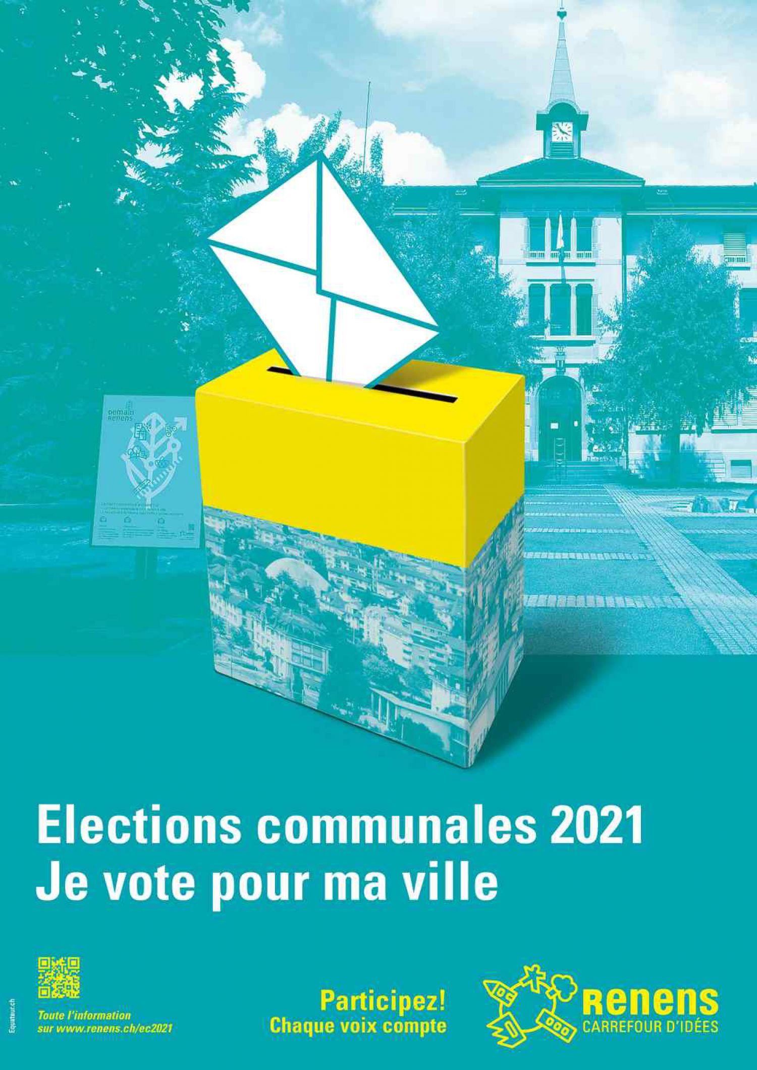 Présentation des candidatures et partis renanais aux élections communales 2021