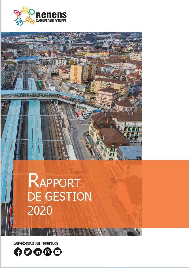 Le rapport de gestion 2020 est en ligne