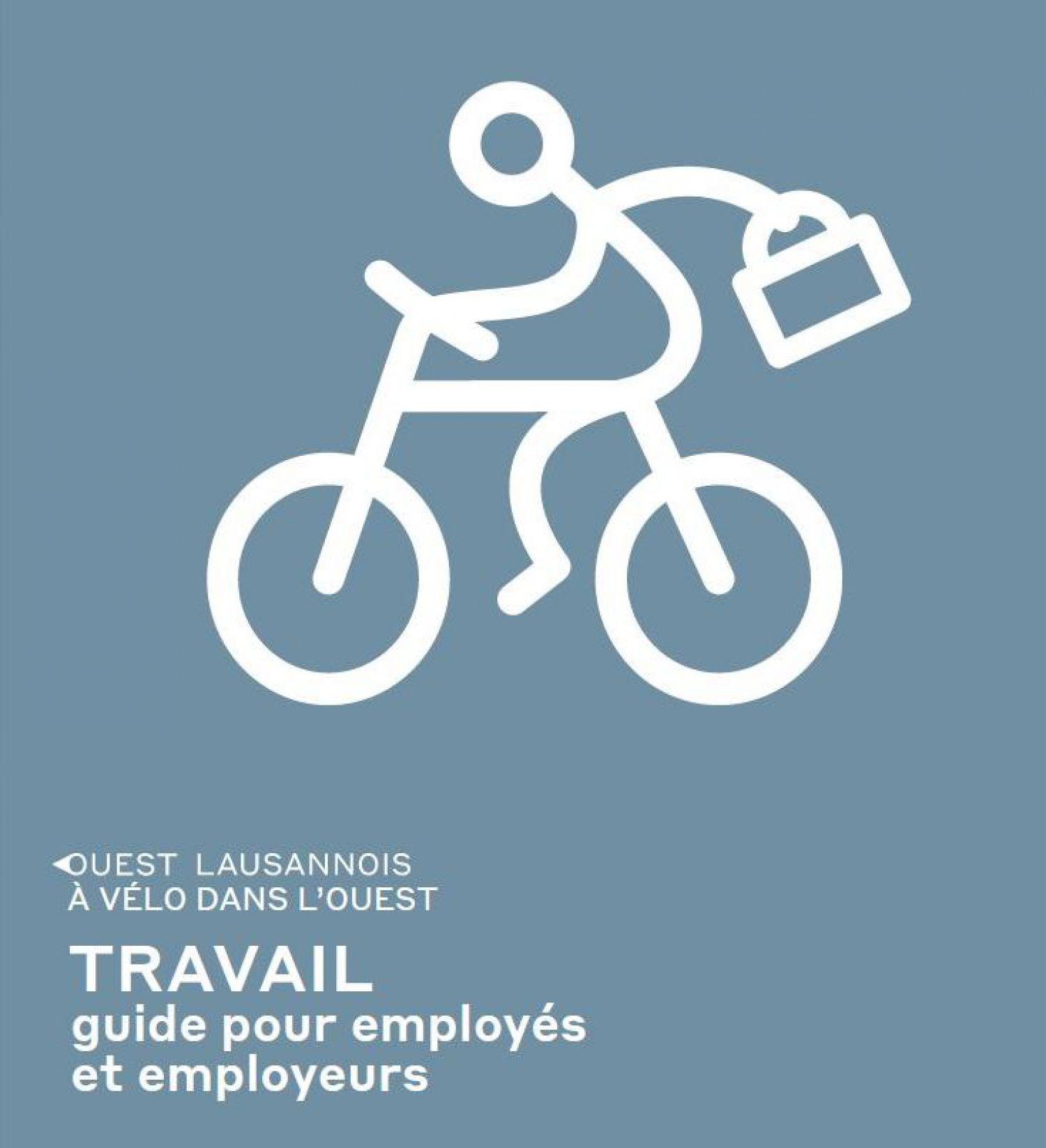 """Un nouveau guide """"A vélo dans l'Ouest"""" et une carte vélo de l'Ouest lausannois sont désormais disponibles"""