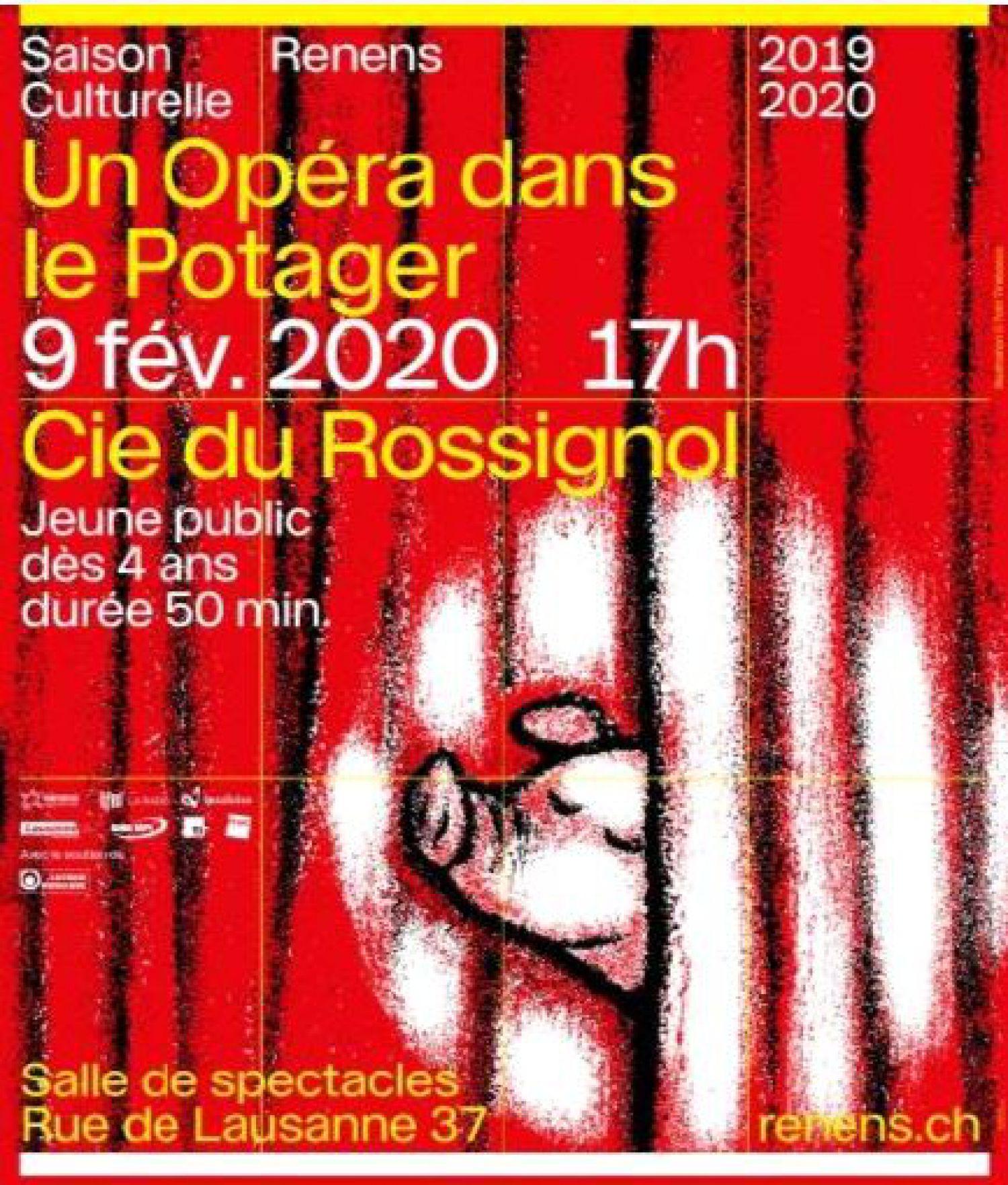 Saison culturelle : Salle de spectacles - 9 février à 17h - Un opéra dans le potager