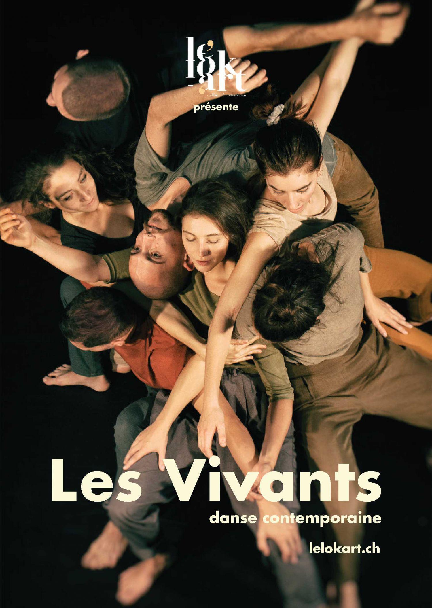 Les Vivants, danse contemporaine à l'Espace D
